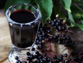 przepis nalewkę z owoców czarnego bzu